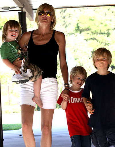 adopted children of hollywood stars